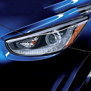 Đèn pha Hyundai Accent 2014 có LED