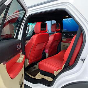 Ghế da Nhật màu đỏ