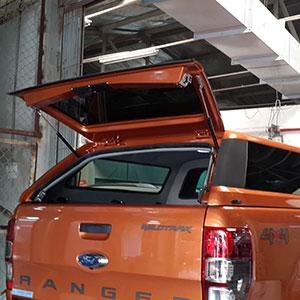 Nắp thùng cao Ford Ranger kính liền