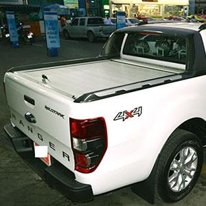 Nắp thùng cuộn Ford Ranger Wildtrack màu bạc