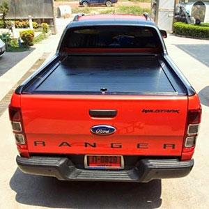 Nắp thùng cuộn Ford Ranger Wildtrack màu đen