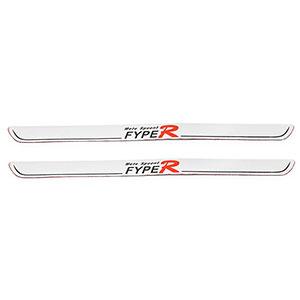 Nẹp bước chân cửa xe hơi Fype R 48,5 x 3,5 cm (Bạc)
