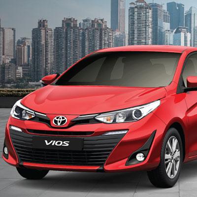 Toyota Vios 2019 1.5G CVT - 1.5E CVT