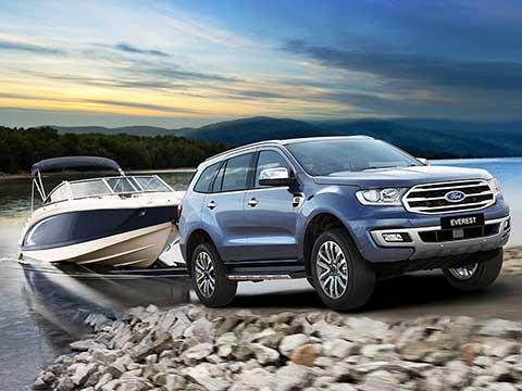 Ford Everest Mới - Tận hưởng khoảnh khắc tuyệt vời của cuộc sống