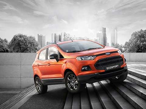 Ford Ecosport - Động cơ hoàn toàn mới vận hành tối ưu