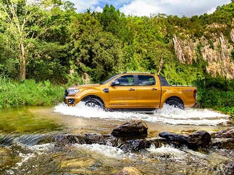 Khám phá khả năng lội nước cực đỉnh của Ford Ranger