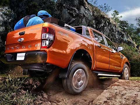 Ford Ranger - Khả năng Truyền động và Off-road vô địch