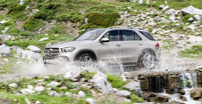 Khám phá công nghệ vận hành vượt trội trên Mercedes-Bez GLE thế hệ mới