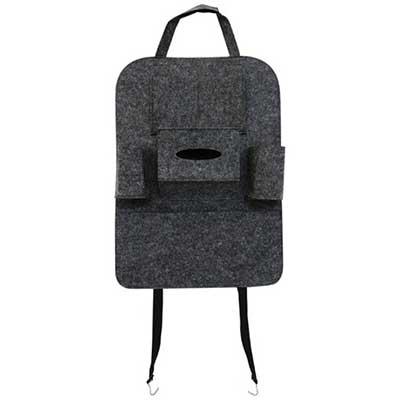 Túi treo lưng ghế ô tô (Xám)