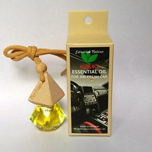 Tinh dầu thơm treo ô tô Hazelnut mùi sả chanh chai 10ml
